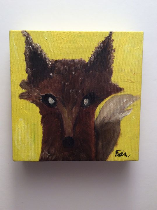 """Foxie"" - Marcia's Sad Horse Gallery"