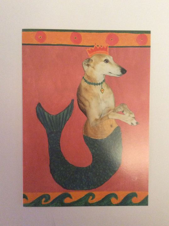 Dog-Fish - Marcia's Sad Horse Gallery