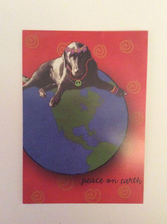 Dog's World Peace - Marcia's Sad Horse Gallery
