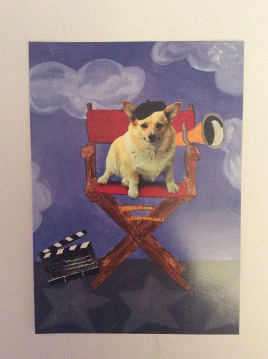 Doggie Director - Marcia's Sad Horse Gallery