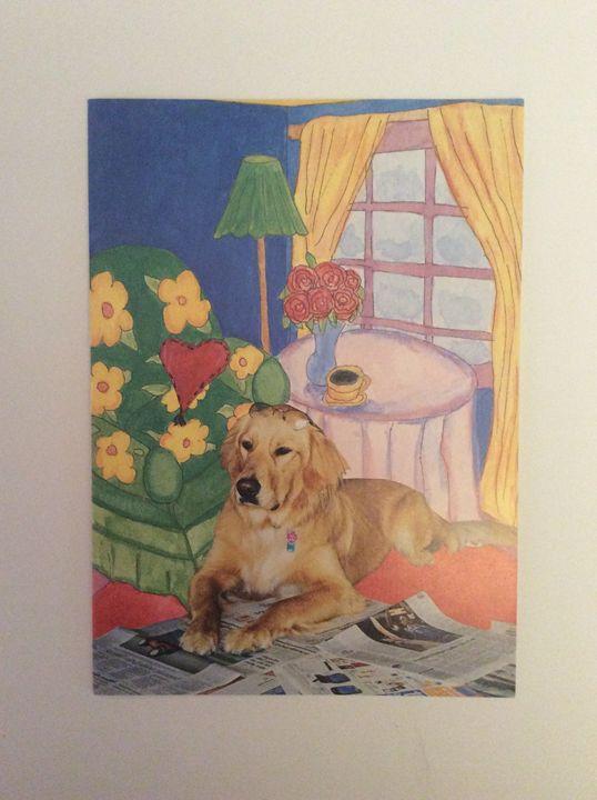 Dog's News - Marcia's Sad Horse Gallery