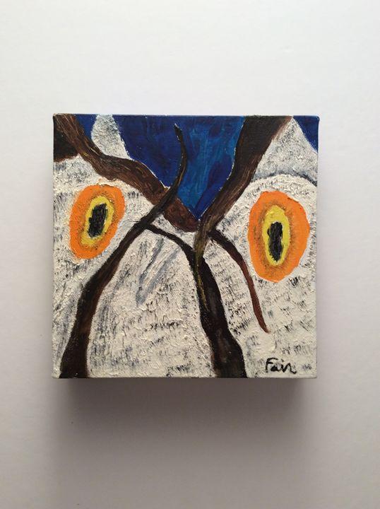 """Wise Owl"" - Marcia's Sad Horse Gallery"
