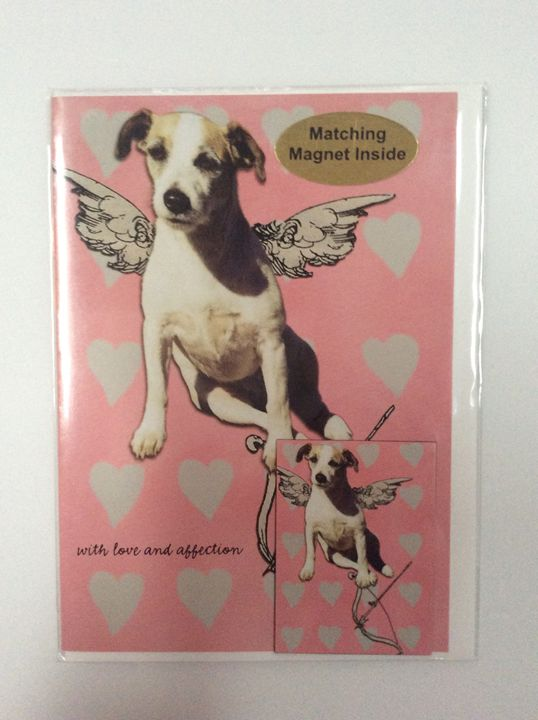 When Dogs Fly with matching magnet - Marcia's Sad Horse Gallery