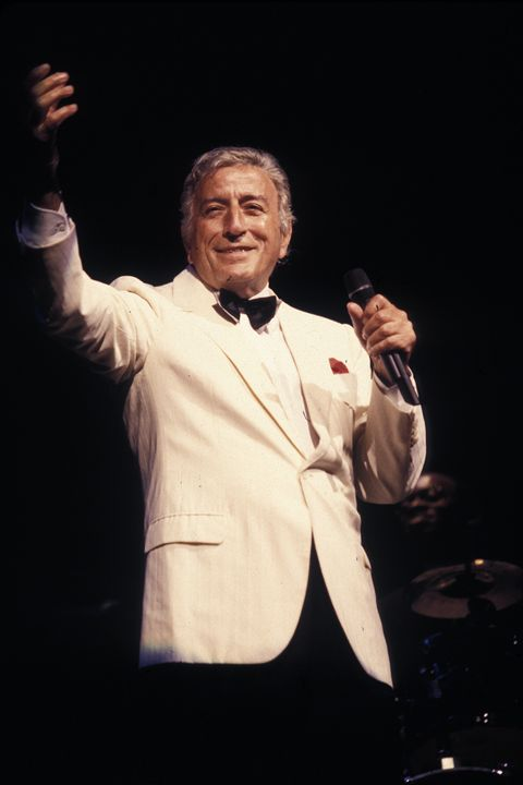 Singer Tony Bennett Color Photo - Front Row Photographs