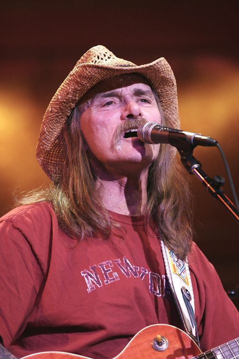 Musician Dickey Betts Color Photo - Front Row Photographs