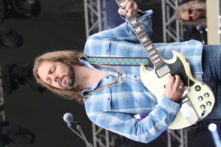 Black Crowes Rich Robinson Photo - Front Row Photographs