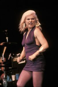Singer Deborah Harry Color Photo - Front Row Photographs