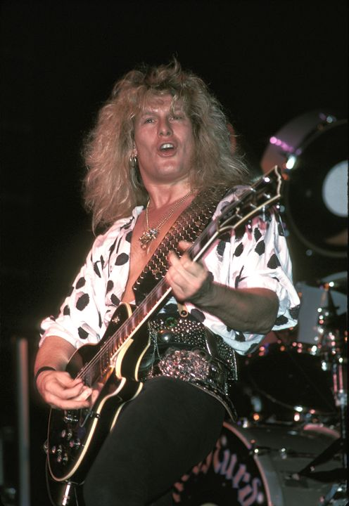 Blue Murder John Sykes Color Photo - Front Row Photographs
