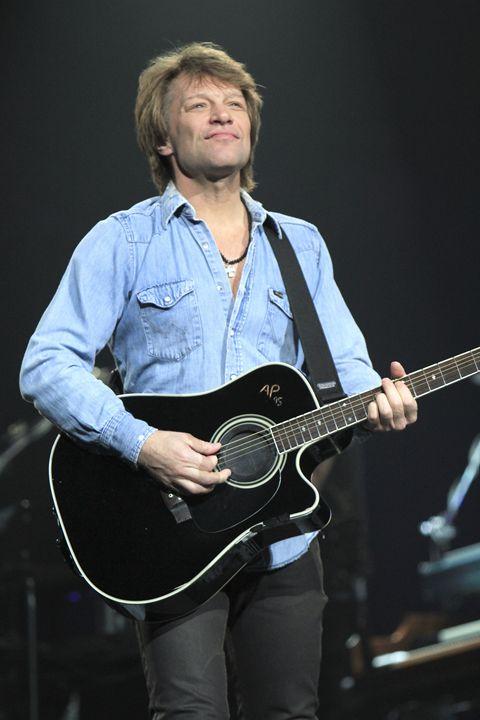 Musician Jon Bon Jovi Color Photo - Front Row Photographs
