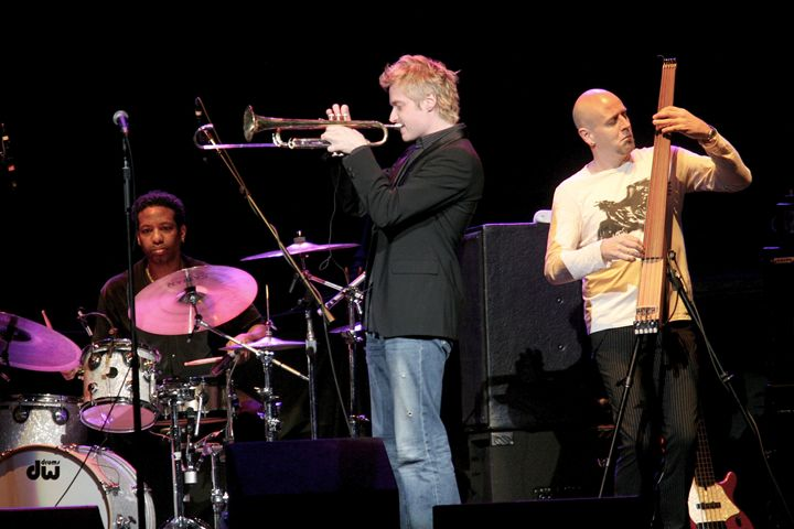 Trumpeter Chris Botti Color Photo - Front Row Photographs