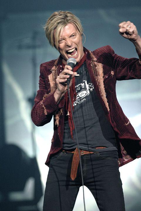 Musician David Bowie Color Photo - Front Row Photographs