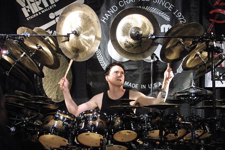 Drummer Terry Bozzio Color Photo - Front Row Photographs