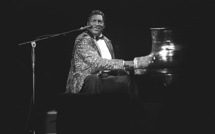 Pianist Charles Brown Concert Photo - Front Row Photographs