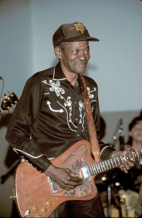 "Clarence ""Gatemouth"" Brown Photo - Front Row Photographs"