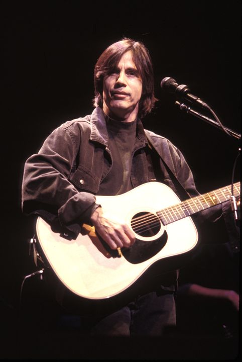 Musician  Jackson Browne Color Photo - Front Row Photographs