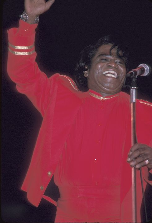 Singer James Brown Concert Photo - Front Row Photographs