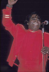 Singer James Brown Concert Photo - Front Row Photographs