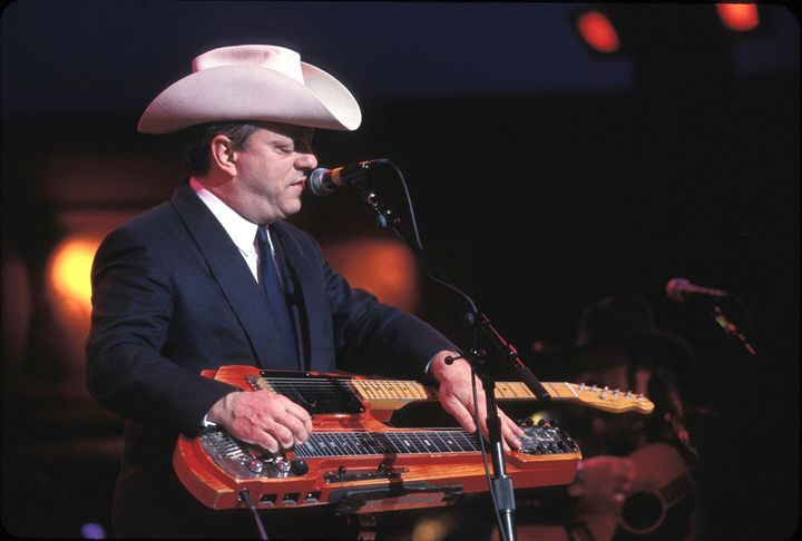 Musician Junior Brown Concert Photo - Front Row Photographs
