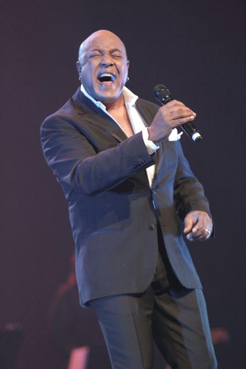 Singer Peabo Bryson Concert Photo - Front Row Photographs
