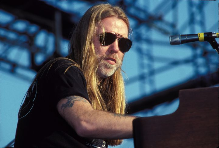 Musician Gregg Allman Color Photo - Front Row Photographs