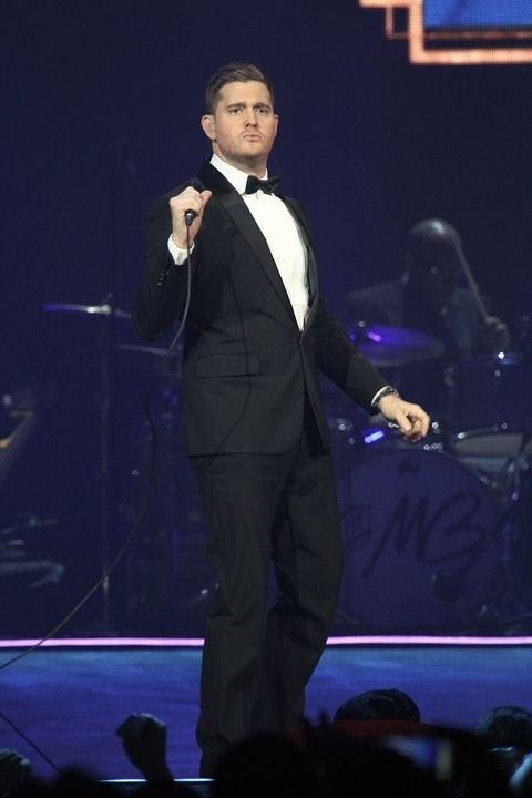 Singer Michael Bublé Concert Photo - Front Row Photographs