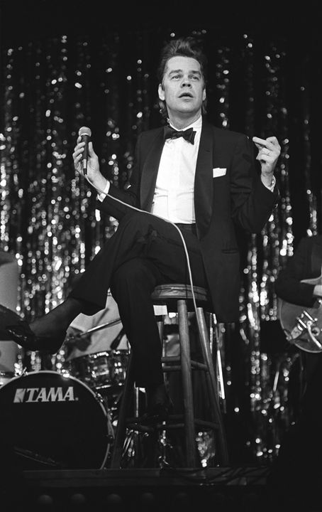 Buster Poindexter BW Concert Photo - Front Row Photographs
