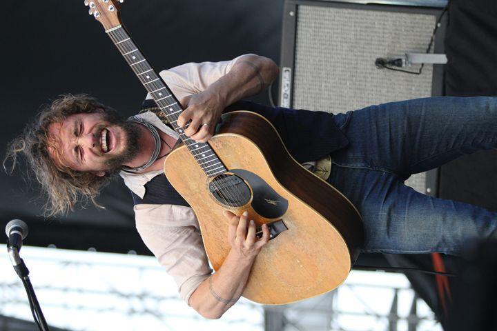 Musician John Butler Color Photo - Front Row Photographs