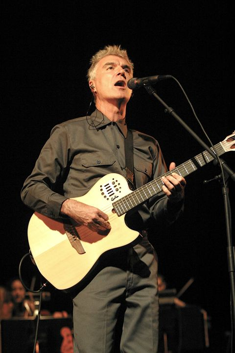 Musician David Byrne Concert Photo - Front Row Photographs