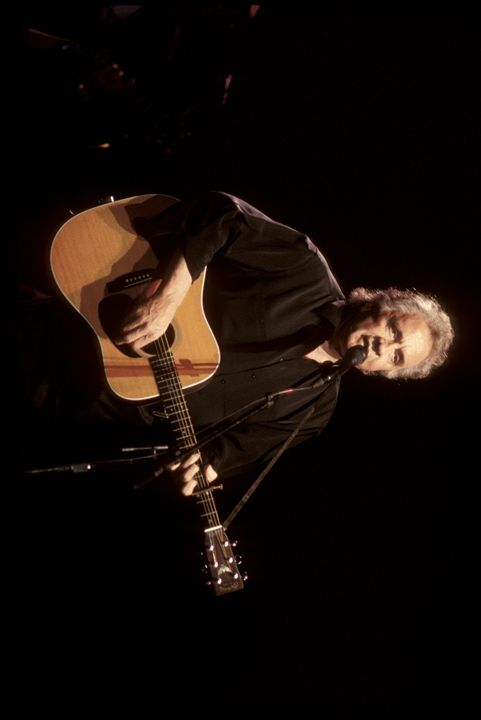 Musician Johnny Cash Color Photo - Front Row Photographs