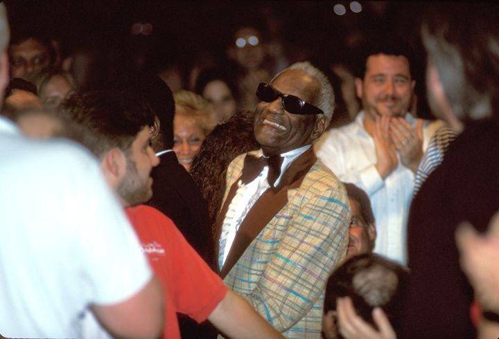 Musician Ray Charles Color Photo - Front Row Photographs
