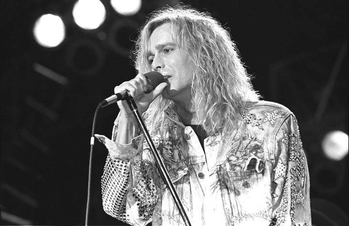 Cheap Trick Robin Zander BW Photo - Front Row Photographs