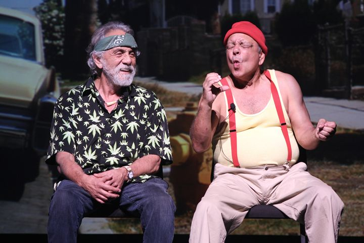 Comedians Cheech & Chong Color Photo - Front Row Photographs