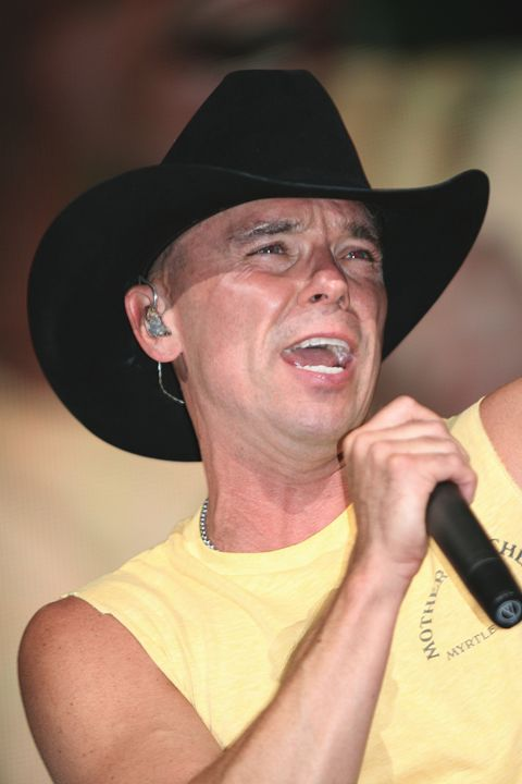 Singer Kenny Chesney Color Photo - Front Row Photographs
