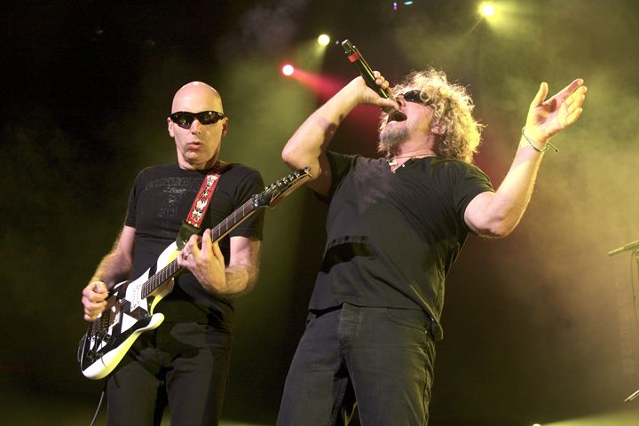 Chickenfoot Satriani & Hagar Photo - Front Row Photographs
