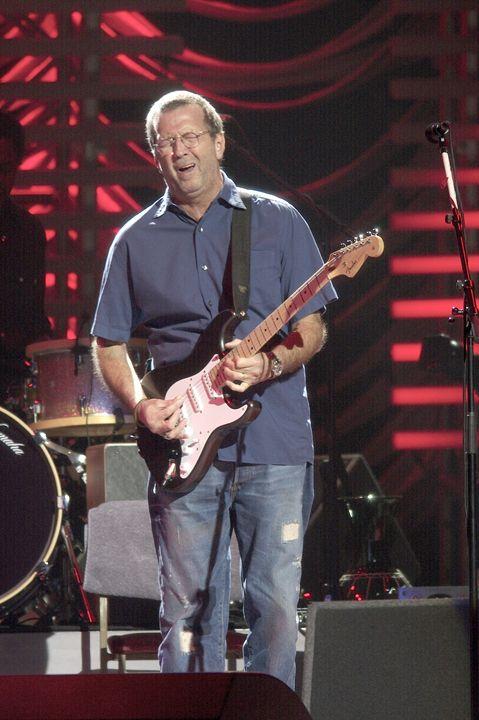 Musician Eric Clapton Color Photo - Front Row Photographs
