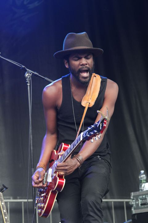 Guitarist Gary Clark Jr Color Photo - Front Row Photographs
