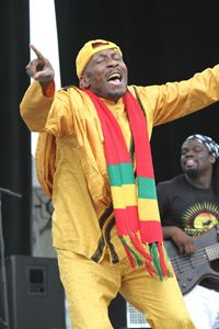 Singer Jimmy Cliff Color Photo - Front Row Photographs