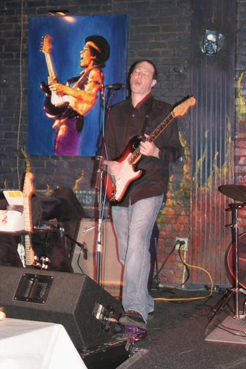 Musician Murali Coryell Color Photo - Front Row Photographs