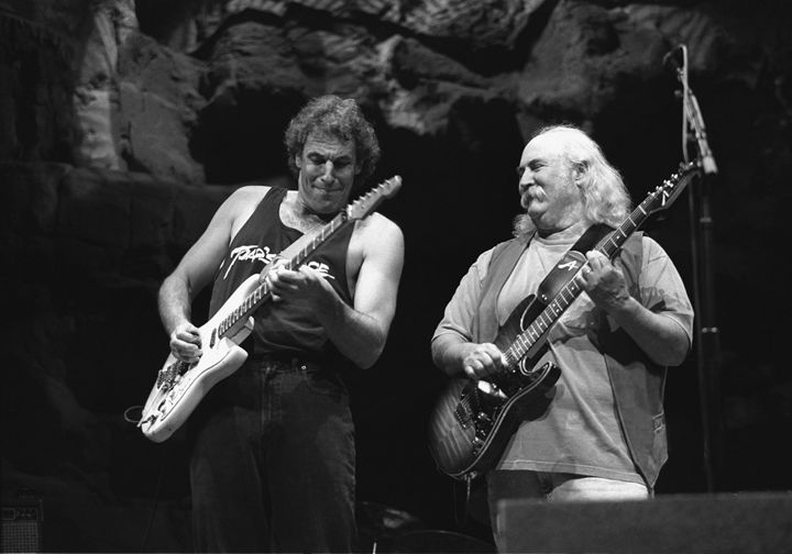 CPR Jeff Pevar & David Crosby Photo - Front Row Photographs