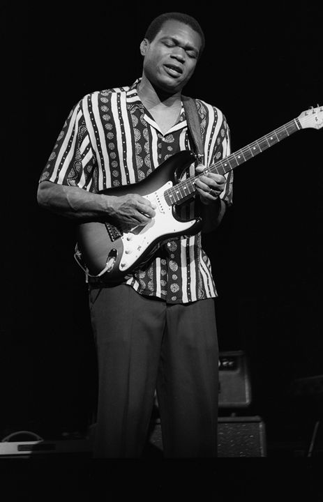 Guitarist Robert Cray BW Photo - Front Row Photographs