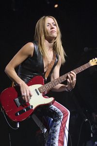 Musician Sheryl Crow Color Photo