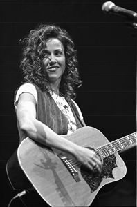 Musician Sheryl Crow BW Photo