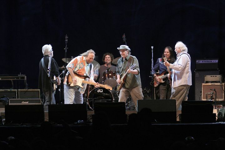 CSN&Y Reunion Color Concert Photo - Front Row Photographs