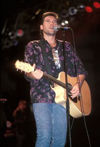 Musician Billy Ray Cyrus Color Photo