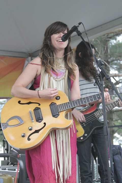 Musician Nicole Atkins Color Photo - Front Row Photographs