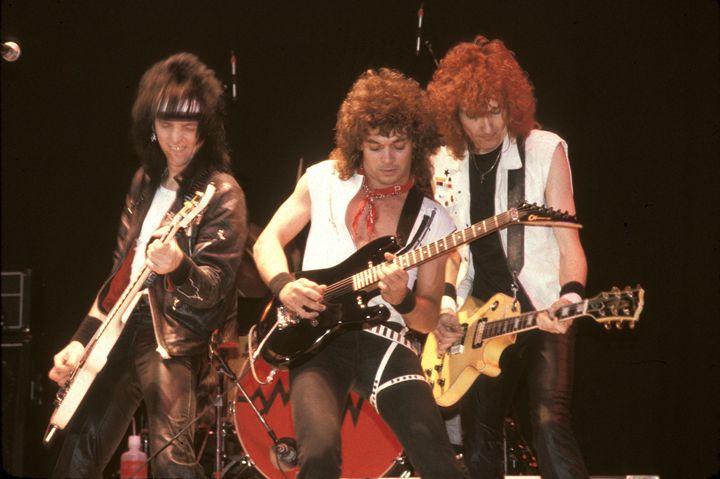 Autograph Guitarists Color Photo - Front Row Photographs