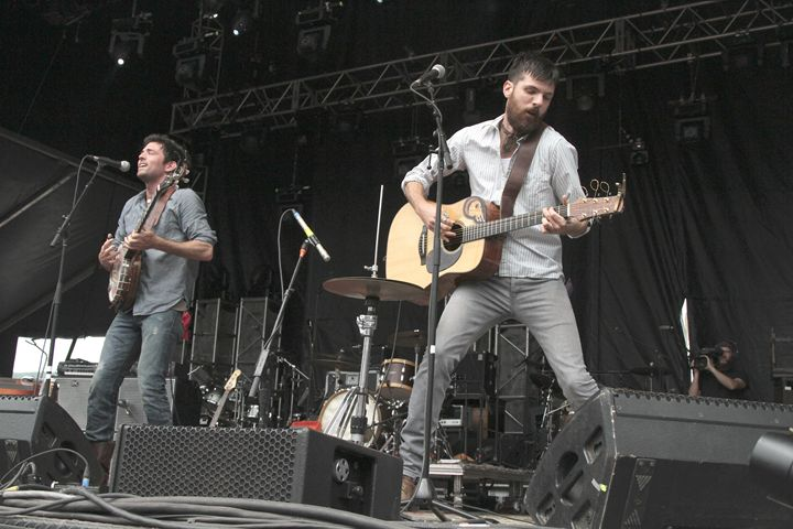 The Avett Brothers Color Photo - Front Row Photographs