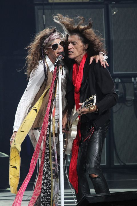 Aerosmith Tyler & Perry Color Photo - Front Row Photographs