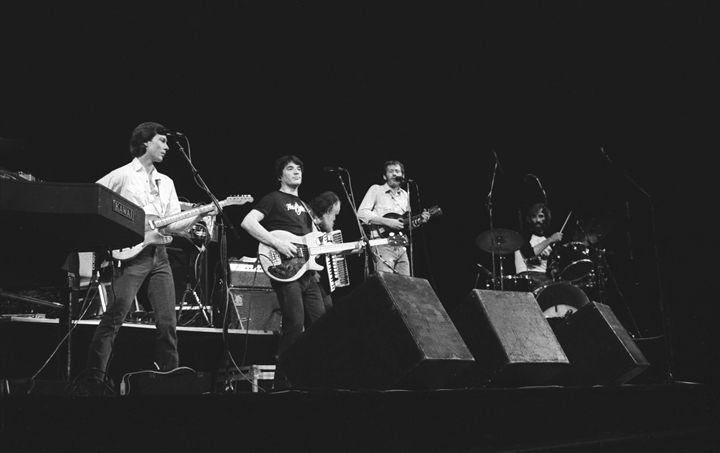 The Band BW - Front Row Photographs