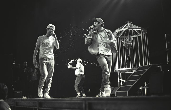 The Beastie Boys BW Concert Photo - Front Row Photographs
